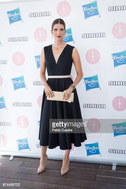 Margarita Vargas attends 'Hasbro' toys charity event at Room Mate Oscar Hotel on November 15 2017 in Madrid Spain
