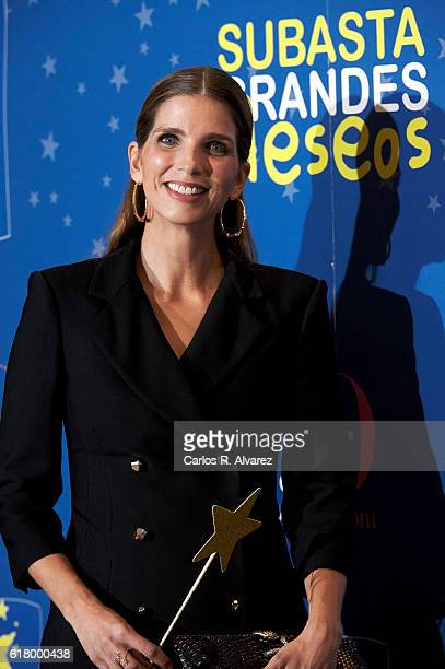 Margarita Vargas attends 'Pequeno Deseo' Foundation Charity Auction at Commodore studio on October 25 2016 in Madrid Spain