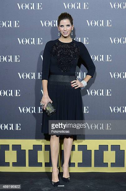 Margarita Vargas attends the 2014 Vogue Joyas Awards ceremony at the Stock Exchange building on November 18 2014 in Madrid Spain