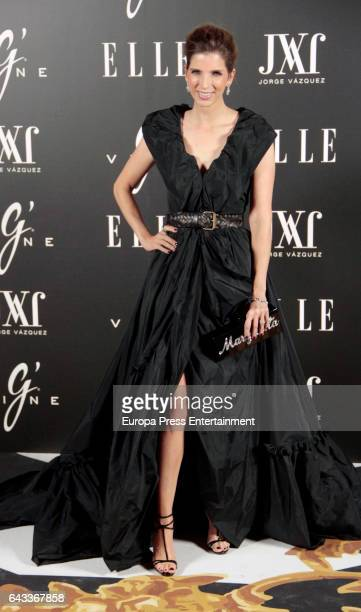 Margarita Vargas attends the 'Elle Jorge Vazquez' photocall at Principe Pio theatre on February 20 2017 in Madrid Spain