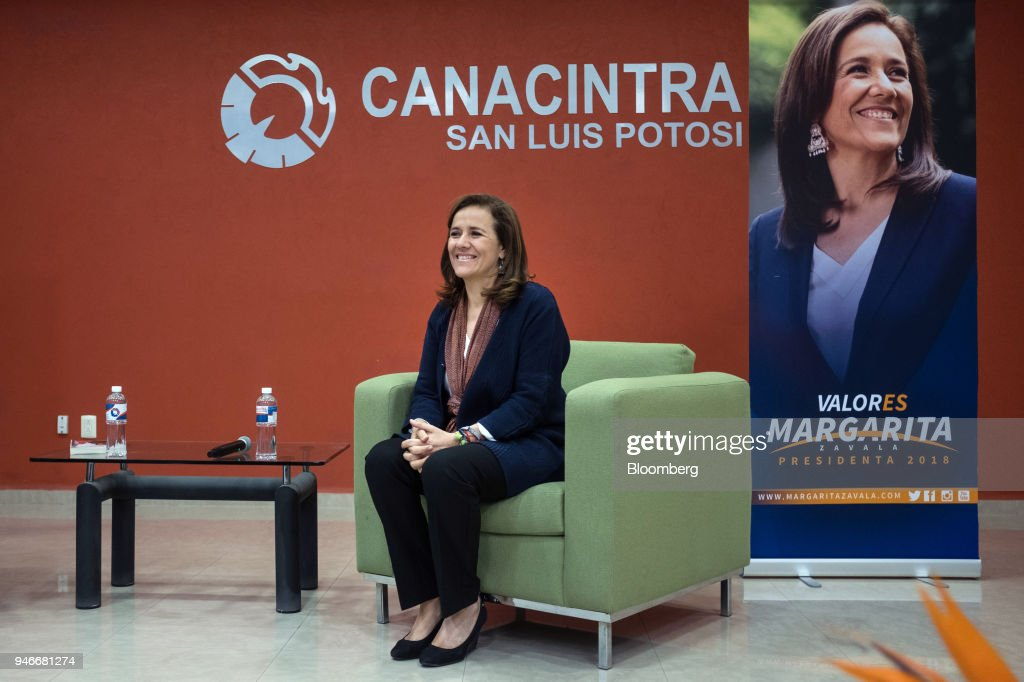 Presidential Candidate Margarita Zavala Holds Campaign Event