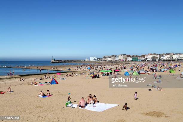 margate beach, england - kent county stock pictures, royalty-free photos & images