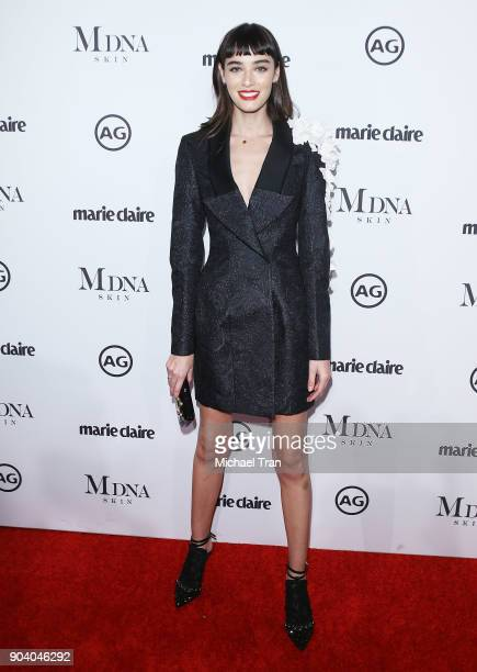 Margaux Brooke arrives to the Marie Claire's Image Maker Awards 2018 held at Delilah on January 11 2018 in West Hollywood California