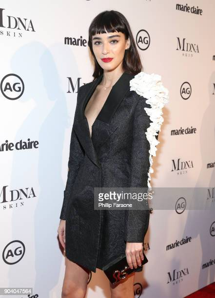 Margaux Brooke attends the Marie Claire's Image Makers Awards 2018 on January 11 2018 in West Hollywood California