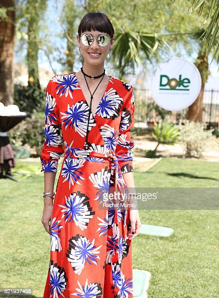 Margaux Brooke attends the Sunshine Squad Brunch by Dole Packaged Foods at Ritz Carlton Rancho Mirage on April 17 2016 in Rancho Mirage California