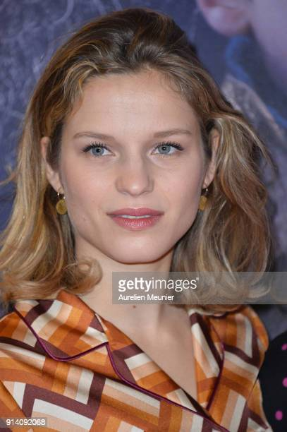 Margaux Chatelier attends the Belle et Sebastien 3 Paris premiere at Cinema Gaumont Opera on February 04 2018 in Paris France