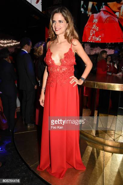 Margaux De Frouville attends the 'Red Defile' Auction Fashion Show Hosted by Ajila Association Association Against Women Heart Disease at VIP Room...