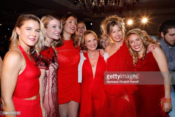 Margaux de Frouville Claire Verneil Sandrine Quetier Volunteer President of the AJILA Foundation Isabelle Weill Romane Serda and Cyrielle Hariel...