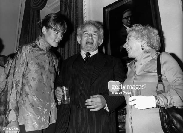 Margaux Hemingway Norman Mailer and Mary Hemingway circa 1979 in New York City