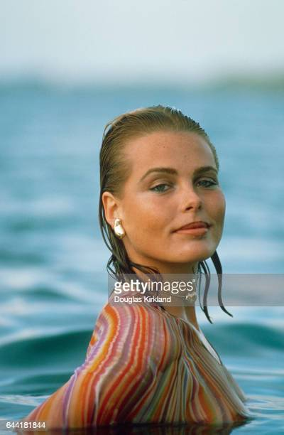 Margaux Hemingway Swimming