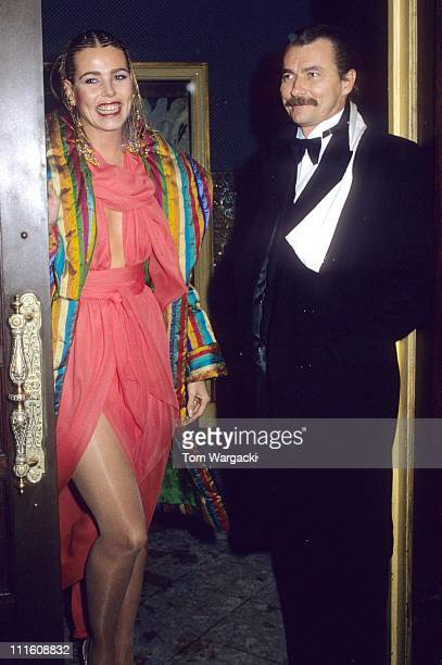 Margaux Hemingway with her second husband Bernard Foucher