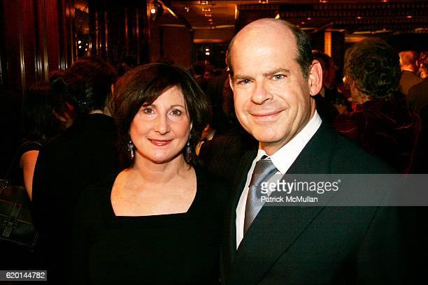 Margery Rosen and Jeffery Rosen attend The New York Botanical Garden Orchid Dinner at Rainbow Room on February 7 2008 in New York City