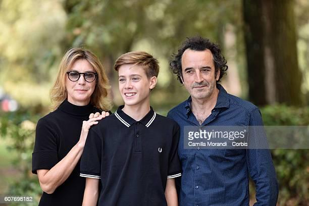 Margherita Buy Andrea Pittorino and Bruno Todeschini attend a photocall for 'La Vita Possibile' on September 19 2016 in Rome Italy