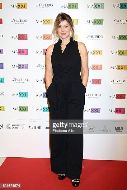 Margherita Buy attends a photocall for the MAXXI Acquisition Gala Dinner 2016 at Maxxi Museum on November 7 2016 in Rome Italy