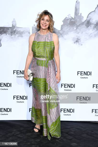 Margherita Buy attends the Cocktail at Fendi Couture Fall Winter 2019/2020 on July 04 2019 in Rome Italy