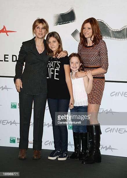 Margherita Buy, Sara Fabiano, Anita Cappucci and director Susanna Nicciarelli attend the 'La Scoperta Dell'Alba' photocall during the 7th Rome Film...