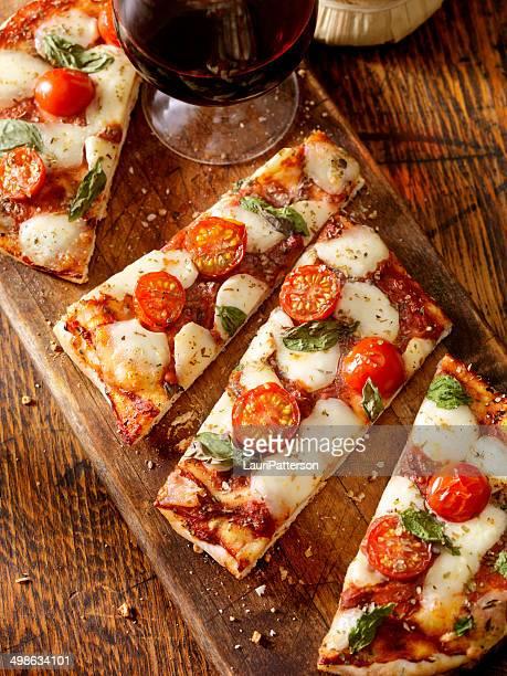 Fladenbrot-Pizza Margherita