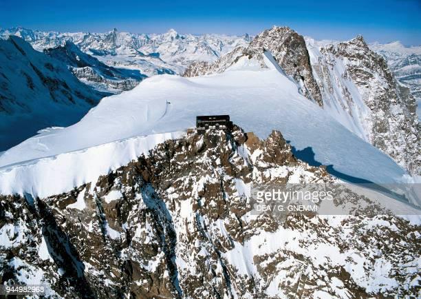 Margherita Hut Alagna Valsesia Monte Rosa Pennine Alps Piedmont Italy