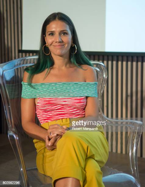 Margherita Maccapani Missoni attends a 'Fashion Tribute' award ceremony dedicated to Angela Missoni and held at the Recinte Modernista de Sant Pau on...