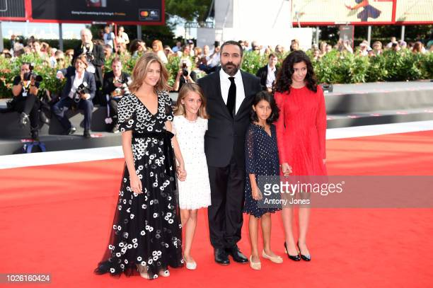 Margherita Mazzucco Ludovica Nasti Saverio Costanzo Elisa Del Genio and Gaia Girace walks the red carpet ahead of the 'My Brilliant Friend '...