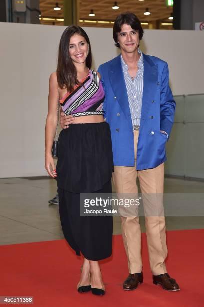 Margherita Missoni and Eugenio Amos attend the Convivio 2014 on June 12 2014 in Milan Italy