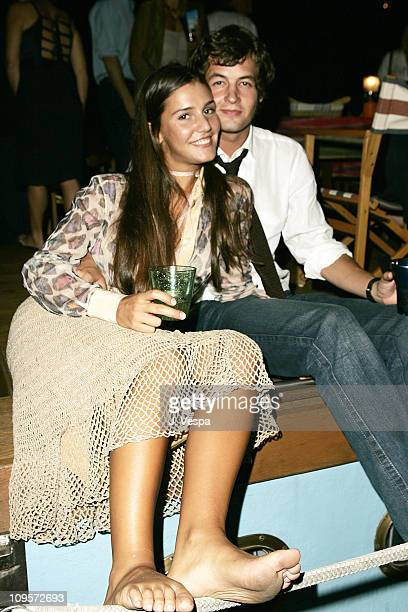 Margherita Missoni and Federico Floriani during 2004 Venice Film Festival 'A Love Song For Bobby Long' Party Sponsored By Missoni at The Missoni Boat...