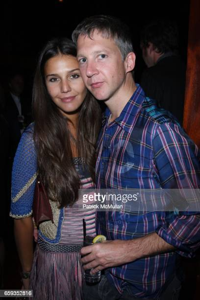 Margherita Missoni and Jefferson Hack attend DAPHNE GUINNESS Hosts a Private Screening of her Short Film MNENOSYNE at Library Bar at Hudson on...