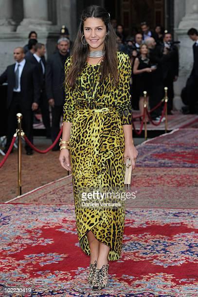 "Margherita Missoni attend the Dolce & Gabbana ""20 Years of Menswear"" during Milan Fashion Week Spring/Summer 2011 on June 19, 2010 in Milan, Italy."