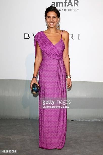 Margherita Missoni attends amfAR's 21st Cinema Against AIDS Gala Presented By WORLDVIEW BOLD FILMS And BVLGARI at Hotel du CapEdenRoc on May 22 2014...