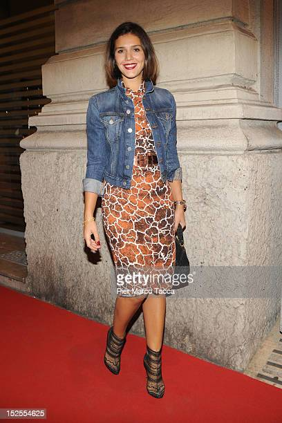 Margherita Missoni attends L'Officiel Italia cocktail and dinner party during Milan Fashion Week Womenswear S/S 2013 on September 21 2012 in Milan...