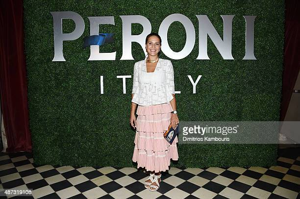 Margherita Missoni attends the debut of Margherita Missoni and Peroni Nastro Azzurro's Fall fashion collaboration during New York Fashion Week on...