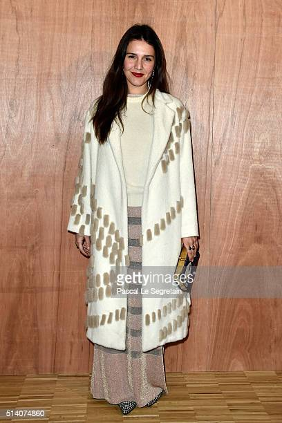 Margherita Missoni attends the Givenchy show as part of the Paris Fashion Week Womenswear Fall/Winter 2016/2017 on March 6 2016 in Paris France