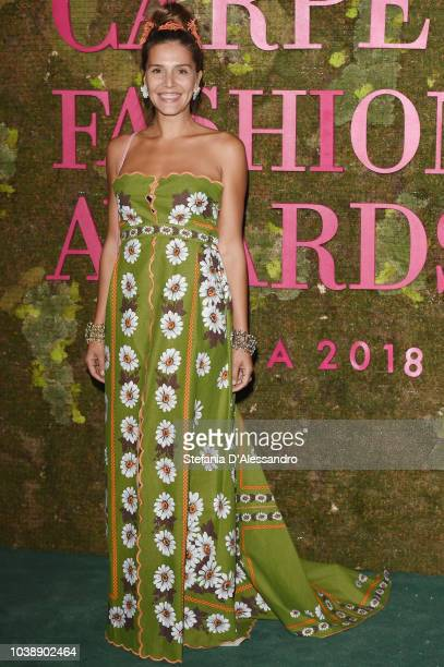 Margherita Missoni attends the Green Carpet Fashion Awards at Teatro Alla Scala on September 23 2018 in Milan Italy