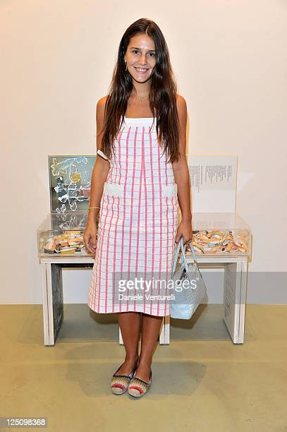 Margherita Missoni attends the 'Lisson Gallery Opens In Milan' on September 15 2011 in Milan Italy