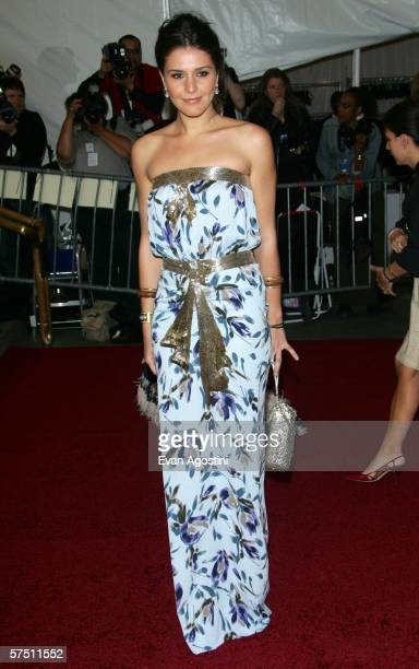 Margherita Missoni attends the Metropolitan Museum of Art Costume Institute Benefit Gala Anglomania at the Metropolitan Museum of Art May 1 2006 in...