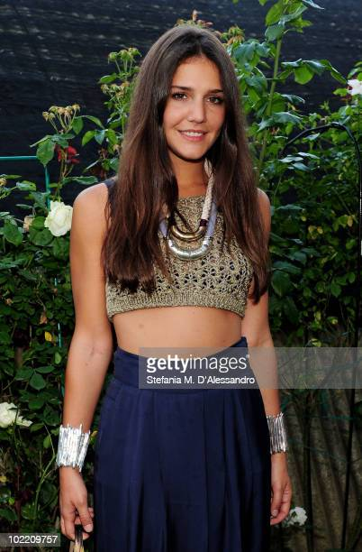 Margherita Missoni attends the Missoni Cocktail Party as part of the Milan Fashion Week Menswear S/S 2011 on June 18 2010 in Milan Italy