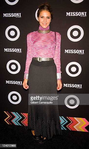 Margherita Missoni attends the Missoni for Target Collection launch at the Missoni for Target PopUp Store on September 7 2011 in New York City