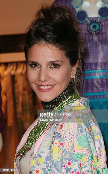 Margherita Missoni attends the Rodeo Drive Walk of Style Award event honoring Iman and Missoni on October 23 2011 in Beverly Hills California