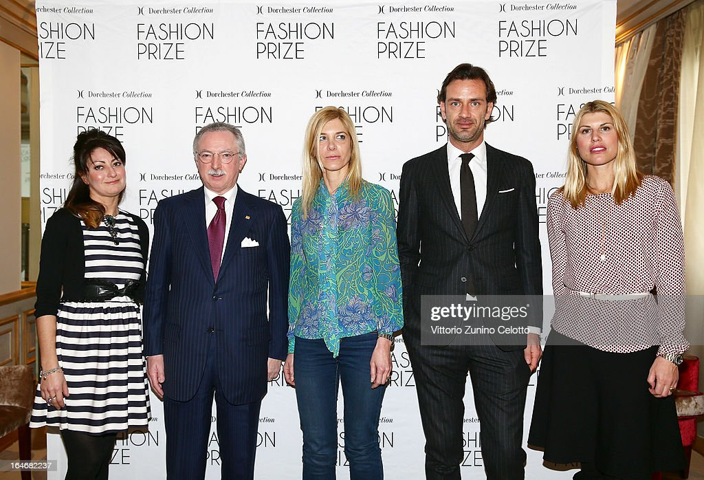Launch Of The 2013 Dorchester Collection Fashion Prize : News Photo