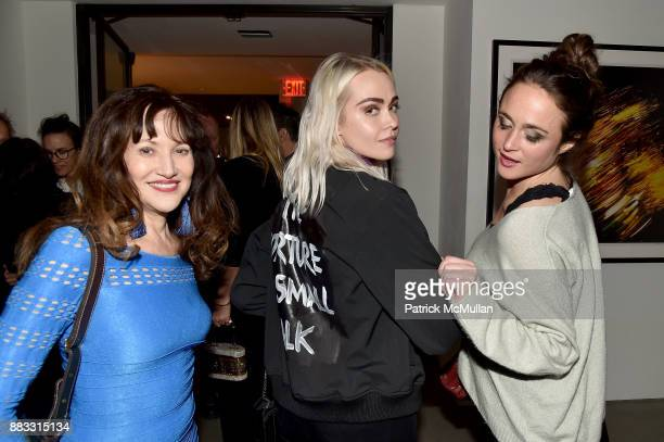 Margie Beck Olive Allen and Kyla McCarthy attend the 2017 ARTWALK NY Benefiting Coalition for the Homeless at Spring Studios on November 29 2017 in...