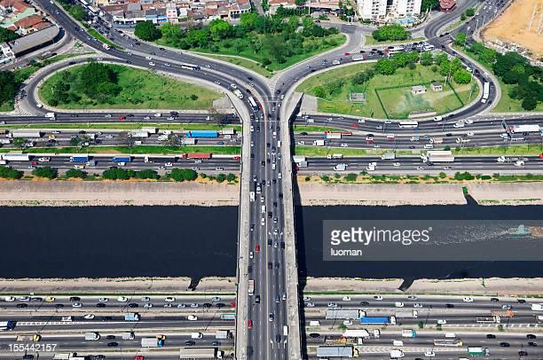 Marginal Tiete em São Paulo