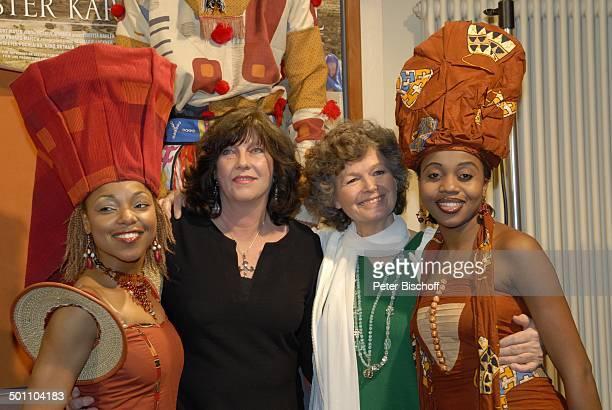Margit Chuchra Gudula Blau Mother Africa Künstler Premiere Mister Karl Karlheinz Böhm Wut und Liebe GloriaFilmpalast München Bayern Deutschland...