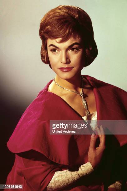 Margit Saad, deutsche Schauspielerin und Regisseurin, Deutschland frühe 1960er Jahre. German actress and movie director Margit Saad, Germany early...