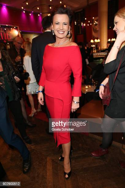 Margit Toennies during the BUNTE BMW Festival Night 2018 on the occasion of the 68th Berlinale International Film Festival Berlin at Restaurant...