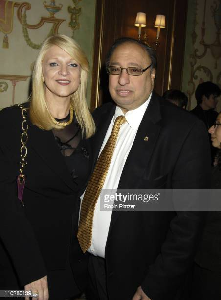 Margo and John Catsimatidis during 17th Annual PAL Women of the Year Luncheon Honoring Lorraine Bracco and Susan Lyne at The Pierre Hotel in New York...