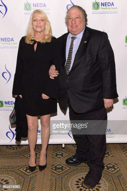 Margo Catsimatidis and John Catsimatidis attend the National Eating Disorders Association Annual Gala 2018 at The Pierre Hotel on May 16 2018 in New...