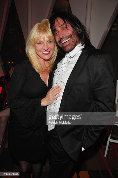 Margo Catsimatidis and Rodolfo Valentin attend CHERI KAUFMAN and friends celebrate Summer In The City at Le Cirque N.Y.C. On June 23, 2008 in New...
