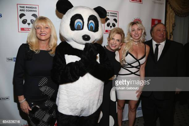 Margo Catsimatidis Congresswoman Carolyn Maloney Andrea Catsimatidis and John Catsimatidis attend First Annual Black White Panda Ball at The...