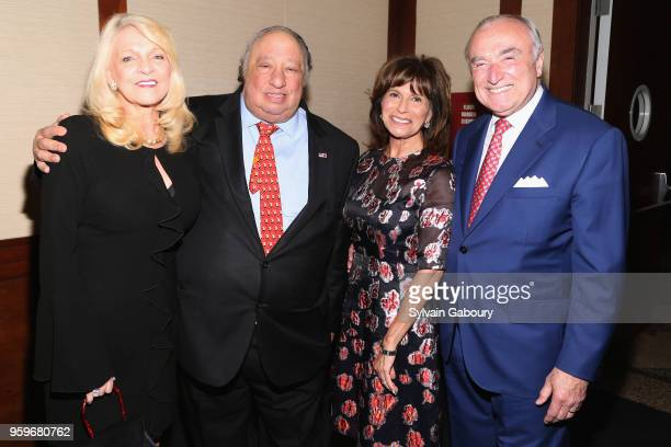 Margo Catsimatidis John Catsimatidis Rikki Klieman and William Bratton attend the New York City Police Foundation 2018 Gala on May 17 2018 in New...