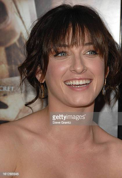 """Margo Harshman arrives at the Los Angeles premiere of """"Sorority Row"""" at the ArcLight Hollywood on September 3, 2009 in Hollywood, California."""